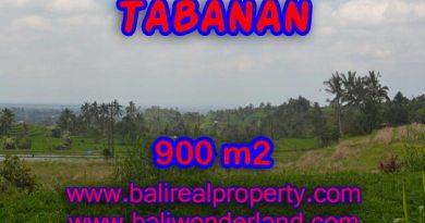 Interesting Land for sale in Tabanan Bali, rice paddy view in JATILUWIH TABANAN - TJTB077