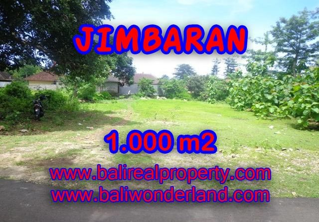Land in Bali for sale, great view in Jimbaran Bali – TJJI063