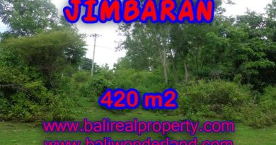 Stunning Land for sale in Bali, villa environment in Jimbaran Bali - TJJI060
