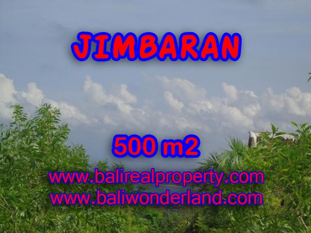 Land in Bali for sale, Astonishing view in Jimbaran Ungasan Bali – TJJI059