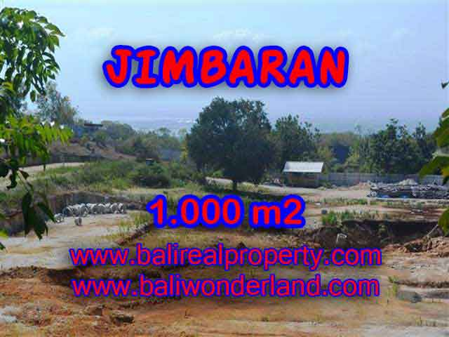 Land for sale in Bali, amazing view in Jimbaran Ungasan – TJJI073