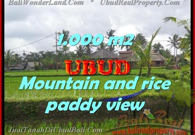 Spectacular Property for sale in Bali, land for sale in Ubud Bali – TJUB424