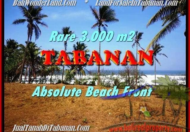 Affordable LAND IN Tabanan Selemadeg BALI FOR SALE TJTB168