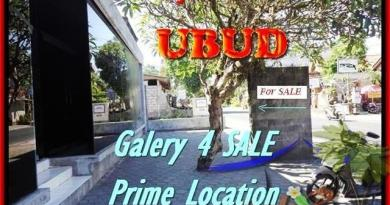 Magnificent LAND IN Sentral Ubud BALI FOR SALE TJUB439