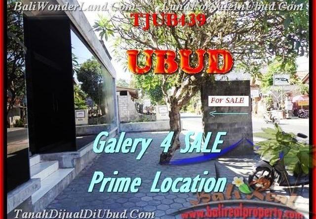 Magnificent LAND IN Sentral Ubud BALI FOR SALE TJUB439