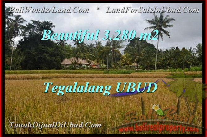 Beautiful Ubud Tegalalang BALI LAND FOR SALE TJUB463