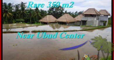 Beautiful 350 m2 LAND FOR SALE IN UBUD BALI TJUB476