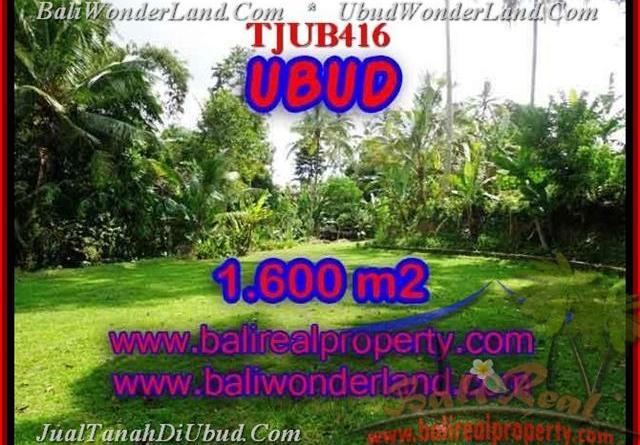 Magnificent 1,600 m2 LAND IN UBUD BALI FOR SALE TJUB416