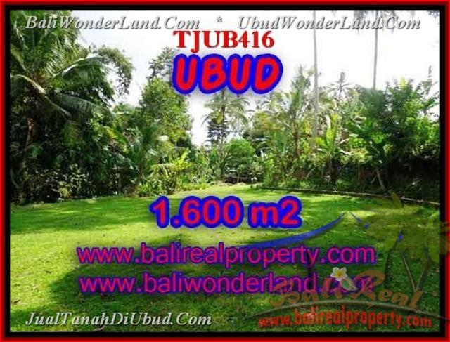 FOR SALE Affordable 1,600 m2 LAND IN UBUD TJUB416