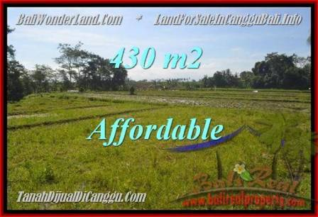 FOR SALE Magnificent PROPERTY 430 m2 LAND IN CANGGU TJCG183