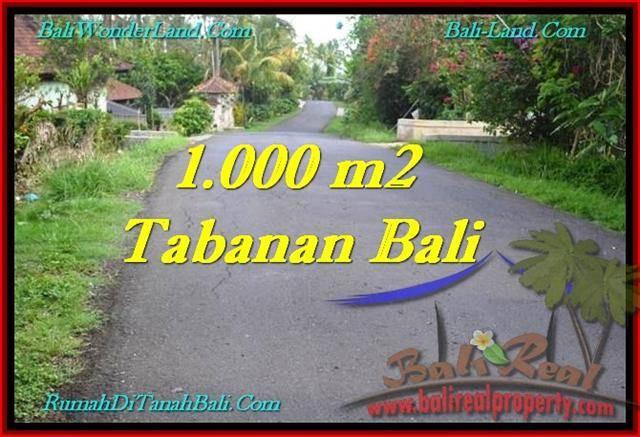 Affordable PROPERTY LAND FOR SALE IN TABANAN TJTB243