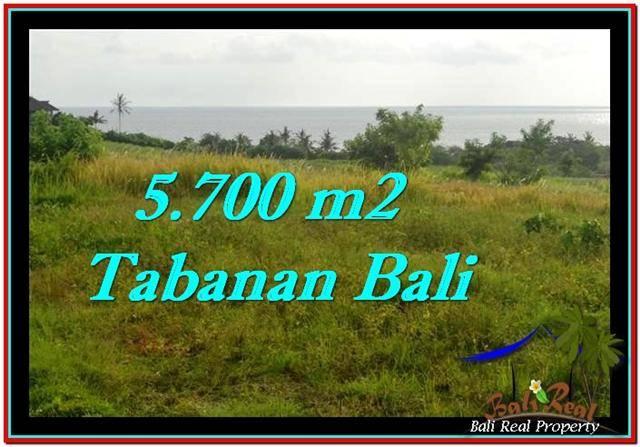FOR SALE Affordable PROPERTY 5,700 m2 LAND IN TABANAN BALI TJTB250