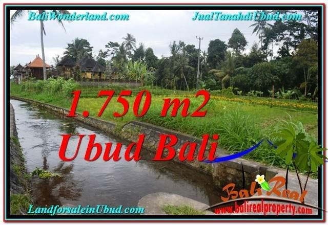 Exotic PROPERTY UBUD LAND FOR SALE TJUB557