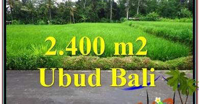 Exotic PROPERTY 2,800 m2 LAND IN Ubud Tampak Siring FOR SALE TJUB563