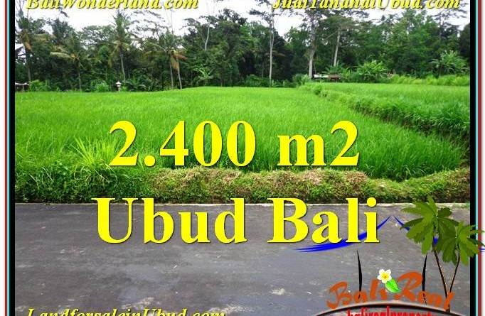 Exotic PROPERTY 2,800 m2 LAND IN Ubud Tampak Siring FOR SALE TJUB563