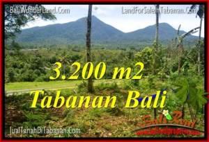Affordable 3,200 m2 LAND IN TABANAN FOR SALE TJTB319