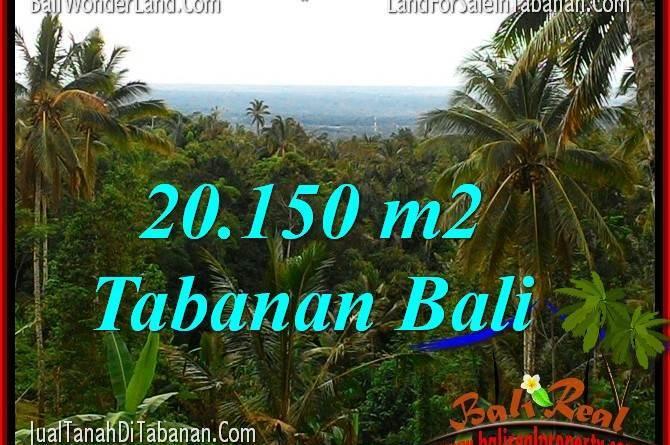 FOR SALE Exotic PROPERTY LAND IN Tabanan Penebel TJTB322