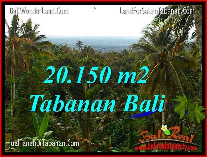 Exotic 20,150 m2 LAND IN Tabanan Penebel FOR SALE TJTB322