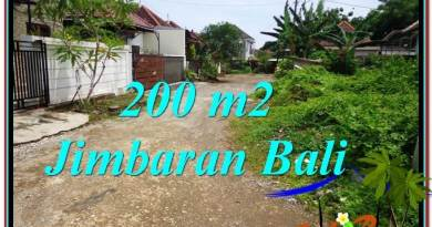 Beautiful PROPERTY Jimbaran Ungasan BALI 200 m2 LAND FOR SALE TJJI106
