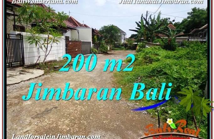 Beautiful PROPERTY Jimbaran Ungasan BALI 200 m2 LAND FOR SALE TJJI106
