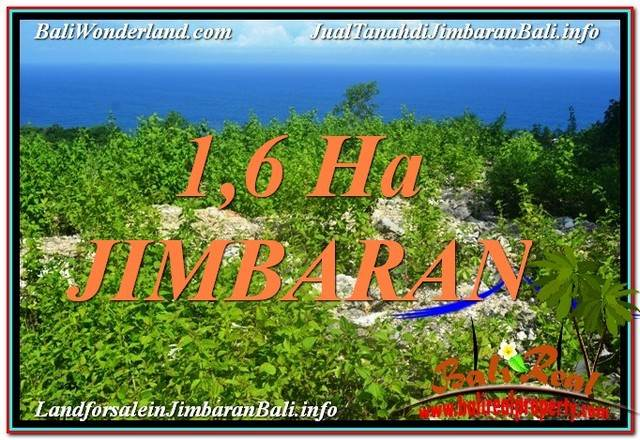 FOR SALE Exotic PROPERTY 16,000 m2 LAND IN Jimbaran Uluwatu TJJI112
