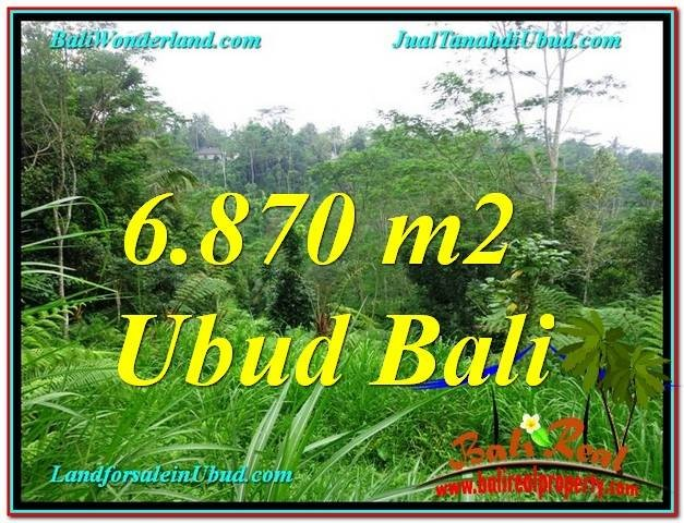 Exotic 6,870 m2 LAND SALE IN UBUD TJUB602