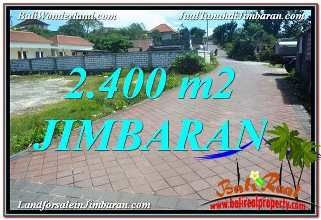 FOR SALE 2,400 m2 LAND IN JIMBARAN BALI TJJI110