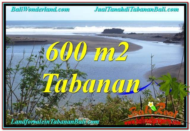 Beautiful PROPERTY 600 m2 LAND FOR SALE IN TABANAN BALI TJTB344