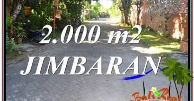 Magnificent PROPERTY 2,000 m2 LAND FOR SALE IN JIMBARAN BALI TJJI115