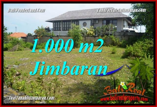 Affordable Jimbaran Ungasan 1,000 m2 LAND FOR SALE TJJI123