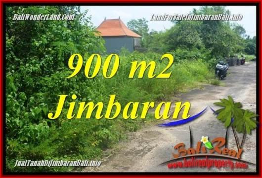 Exotic PROPERTY JIMBARAN BALI 900 m2 LAND FOR SALE TJJI124