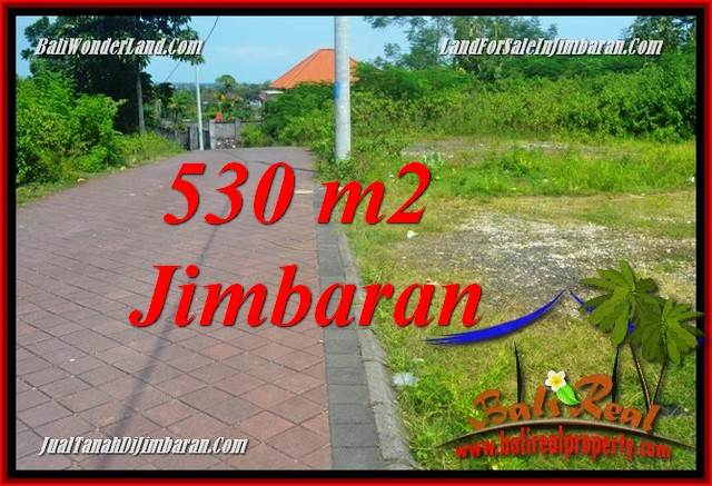 Magnificent JIMBARAN ULUWATU 530 m2 LAND FOR SALE TJJI127