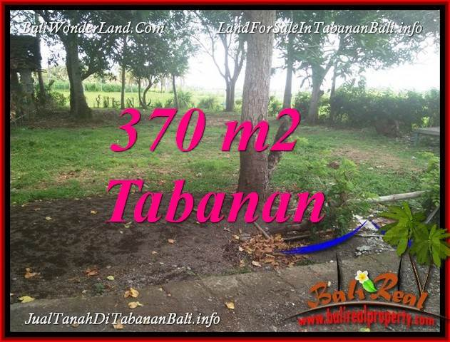 Beautiful 370 m2 LAND SALE IN TABANAN BALI TJTB383