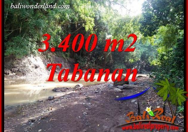 Affordable Property 3,400 m2 Land in Tabanan Selemadeg for sale TJTB412