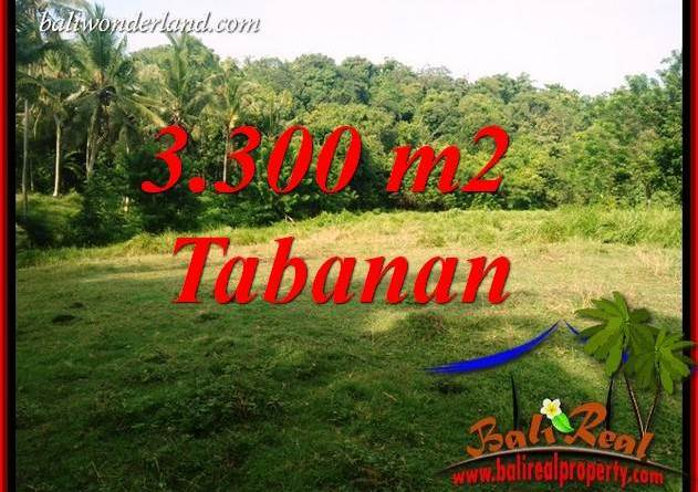 Affordable Tabanan Bali 3,300 m2 Land for sale TJTB413