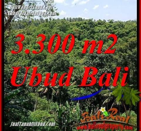 Affordable 3,300 m2 Land for sale in Sentral Ubud TJUB692