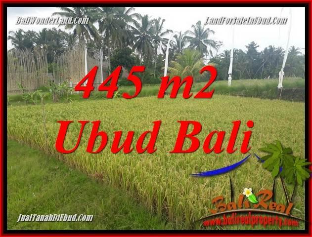 Exotic Land sale in Ubud Bali TJUB695