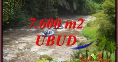 7,600 m2 Land sale in Ubud Bali TJUB705