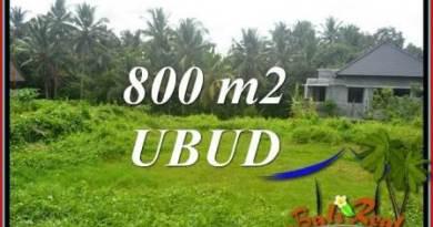 Exotic Property Land sale in Ubud TJUB706