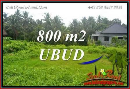 Affordable Property Ubud Bali Land for sale TJUB706