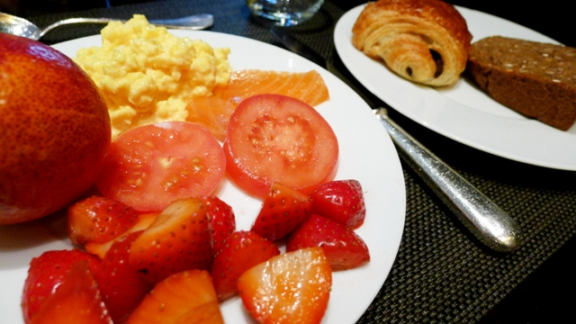 Hyatt Regency Breakfast Buffet Paris France