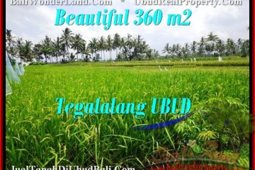 FOR SALE 360 m2 LAND IN UBUD TJUB482