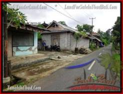 FOR SALE Exotic LAND IN Ubud Tegalalang BALI TJUB489