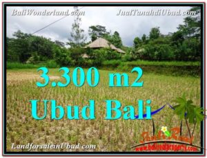 Beautiful LAND FOR SALE IN UBUD TJUB562