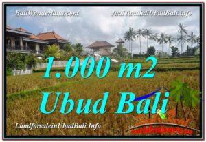 Affordable PROPERTY 1,000 m2 LAND IN UBUD BALI FOR SALE TJUB618