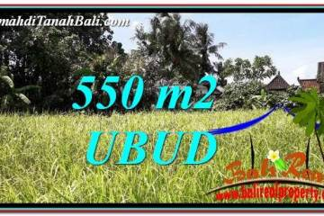 Exotic LAND IN UBUD FOR SALE TJUB766