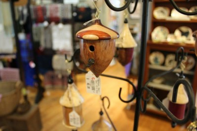 Acorn birdhouse at the Landis Valley Museum Store