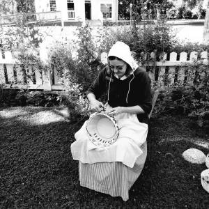 Basketmaker Deb Hammond
