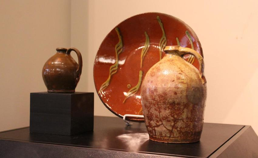 Redware from Pennsylvania German Area