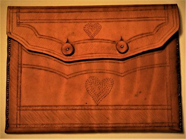 leather case by Brett Walker
